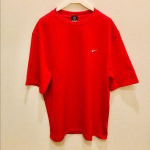 Nike Red Sphere Dry Golf Shirt
